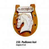 150. Podkowa koń magnes