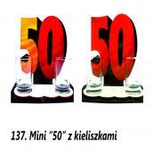 137. Mini 50 z kieliszkami
