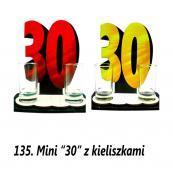 135. Mini 30 z kieliszkami
