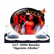 117. Mini bomba - Ognista 18stka