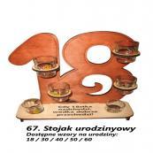 67. Stojak urodzinowy