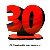 23. Trzydziestka czerwona
