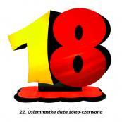 22. Osiemnastka żółto-czerwona