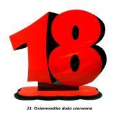 21. Osiemnastka duża czerwona