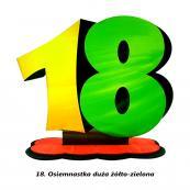18. Osiemnastka żółto-zielona