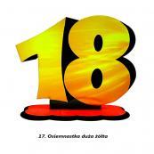 17. Osiemnastka żółta
