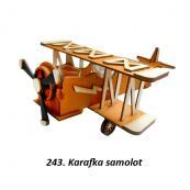 243. Karafka samolot